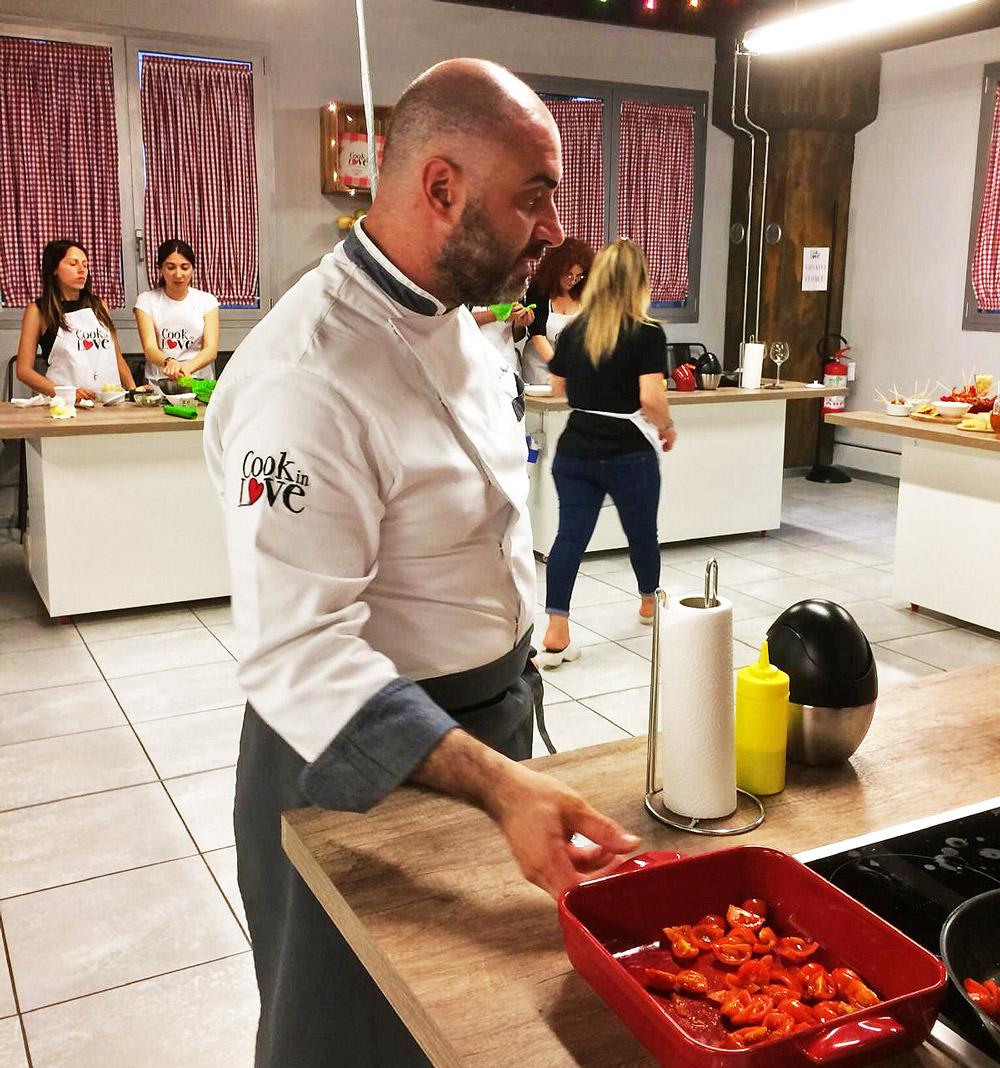 Contenuti del corso Chef Roberto Di Mauro