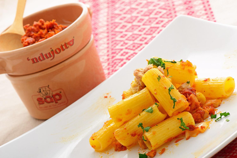 Rigatoni allo sgombro con 'Nduja Chef Roberto Di Mauro